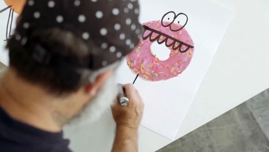 #Stüssy Guest Artist聯名合作系列:Kevin Lyons分享創作靈感影片! 2
