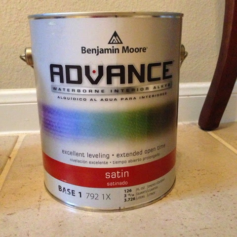 painting kitchen cabinets with benjamin moore advance decor how we painted our kitchen cabinets a tutorial 24485