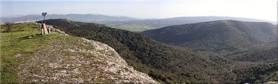 Panorámica desde la cima de Armikelo