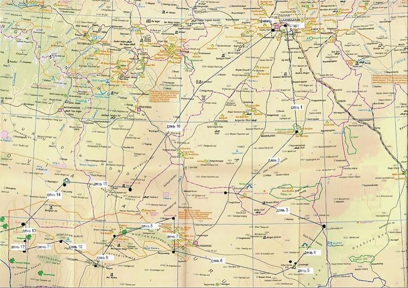 маршрут в виде карты-схемы