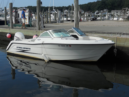 Boat: 2001 20' Hydra-Sport 202 DC. Engine: Brand:Evinrude 200HP 4cyl.