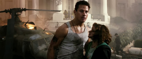 Screen Shot Of Hollywood Movie White House Down (2013) In Hindi English Full Movie Free Download And Watch Online at Alldownloads4u.Com