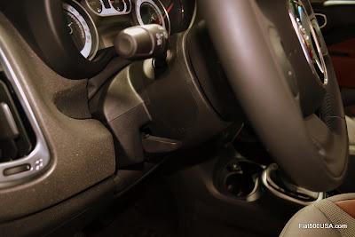 Fiat 500L steering column