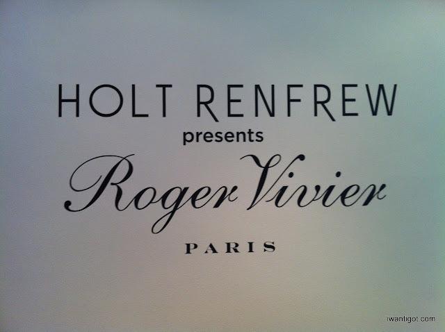 Holt Renfrew Hosts Bruno Frisoni and Roger Vivier
