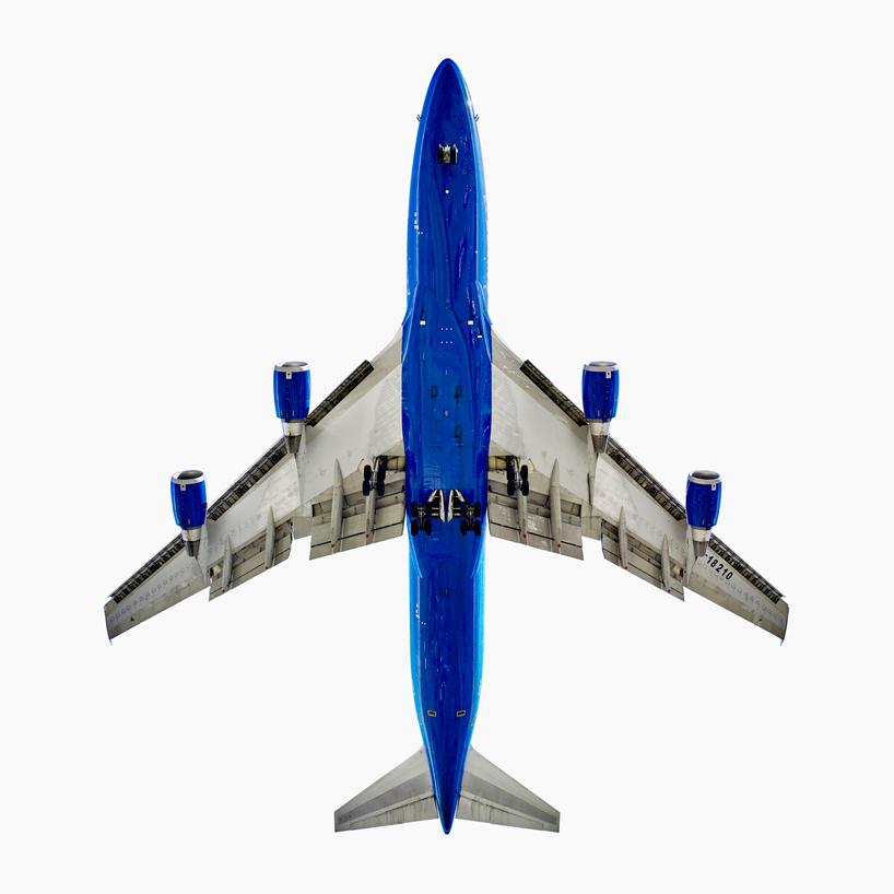 *美國攝影師 Jeffrey Milstein 仰望起降瞬間:捕捉飛機下方腹部攝影作品! 2