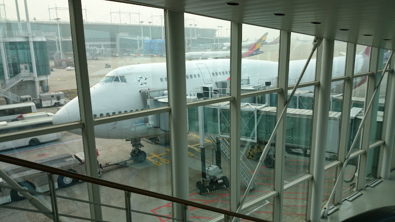 DSC 0615 - REVIEW - Asiana Airlines : First Class - Seoul Incheon to Tokyo Narita (B747)