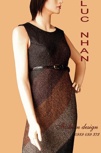 Váy liền - do Cty thiết kế thời trang LỤC NHÂN thiết kế 0989 099 372