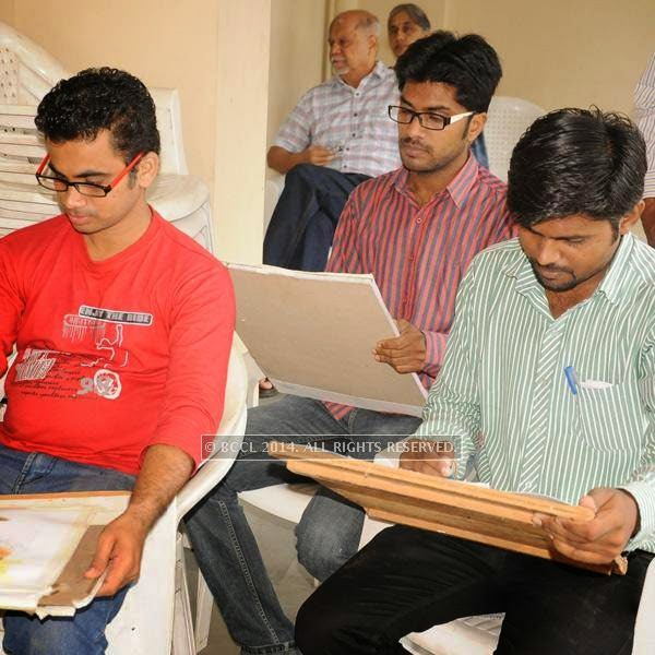 Sameer Deshpande, Sanjay Maldhure and Vaibhav Deoghare during a musical morning at SCZCC in Nagpur.