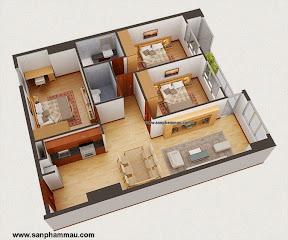 Thiết kế đồ gỗ nội thất căn hỗ ở TP HCM