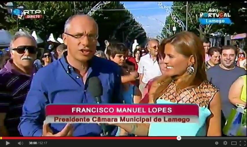 Vídeo - Aqui Portugal - RTP1 - Lamego - 23 de agosto - Festas de Nossa Senhora dos Remédios