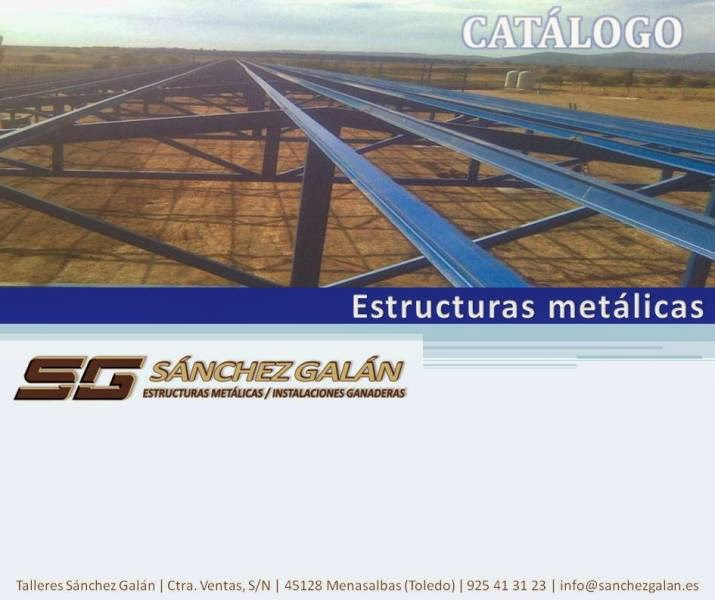 Catálogo estructuras metálicas