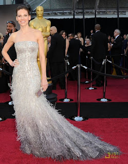 HILLARY+SWANK Oscar 2011!