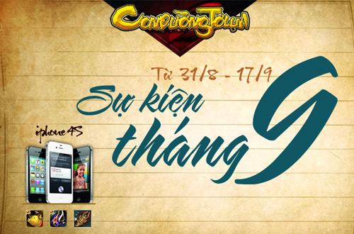 Game thủ Việt đón mưa sự kiện mừng Quốc Khánh 7