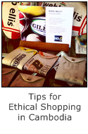 tips for ethical shopping in cambodia
