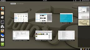 GNOME3 - Fensterauswahl mit Arbeitsflächenumschalter