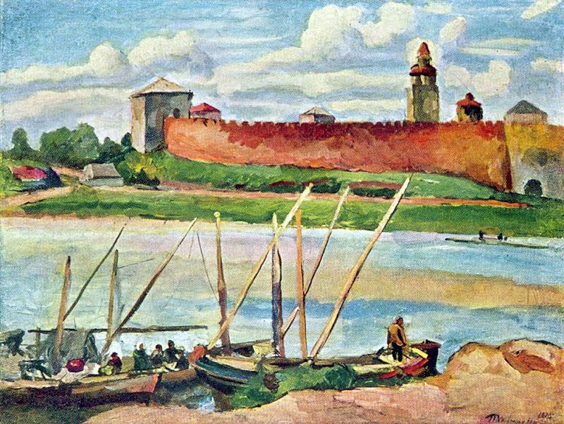 Pyotr Konchalovsky - Novgorod Kremlin (Detinets)
