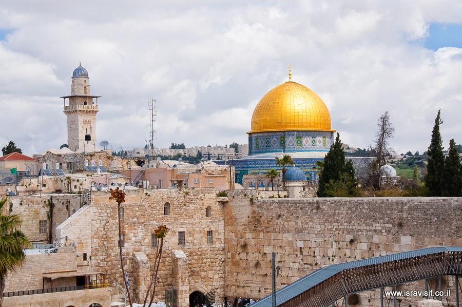 Храмовая гора и Купол Скалы. Экскурсия в Иерусалиме Светланы Фиалковой