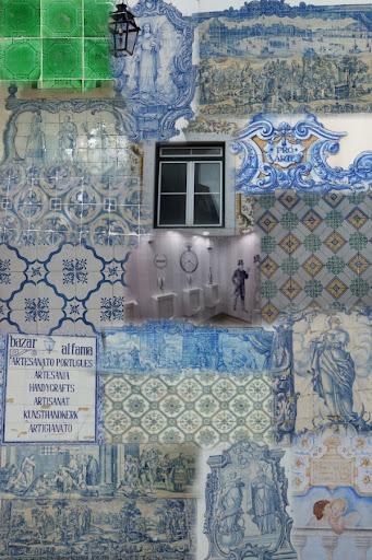 In Lissabon zijn veel tegeltjes te bewonderen