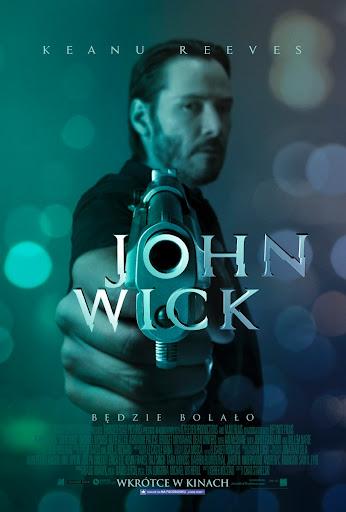 Polski plakat filmu 'John Wick'