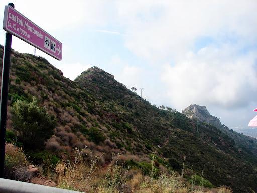 Sendersismo: Castillo de Montornes