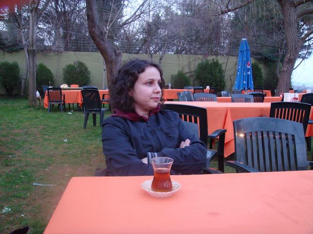 Bir bahar akşamüstü Polonezköy'de