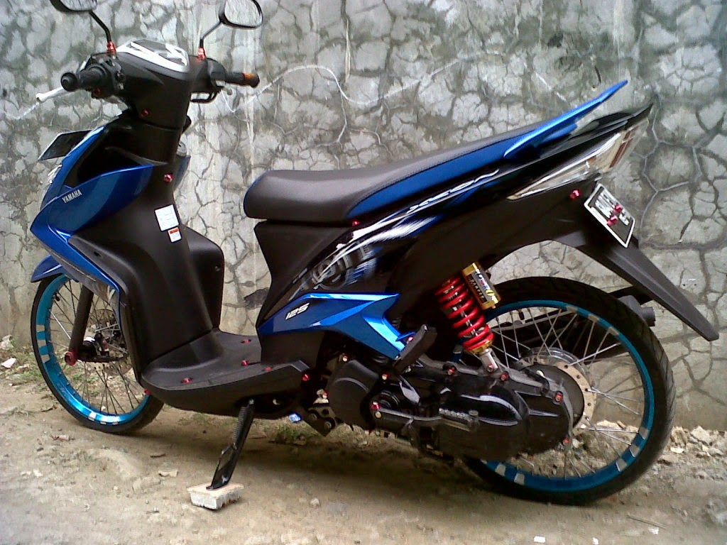 Modifikasi Yamaha Fino Sporty