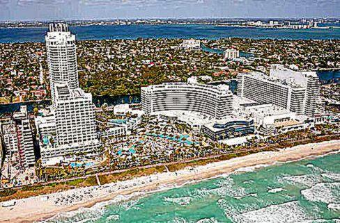 Fontainebleau Miami Beach Florida Condo Hotel Residences for Sale