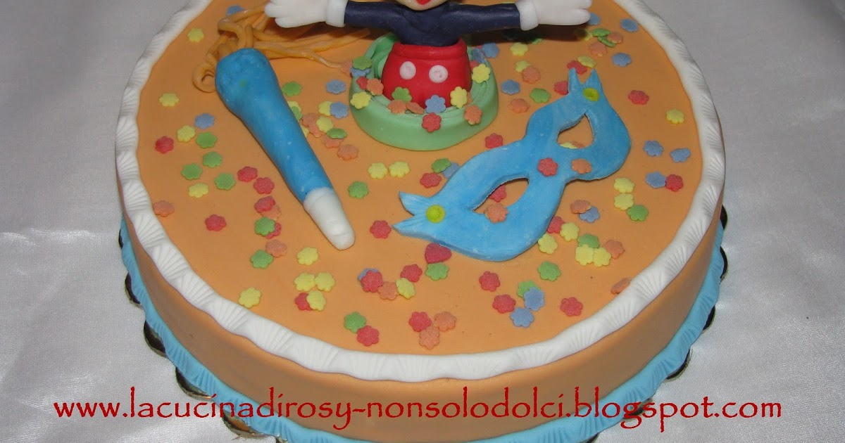 Le torte decorate di rosy topolino for Decorazioni torte ladybug