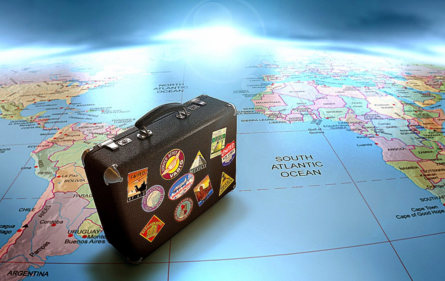 Travel All Around The World Wallpaper