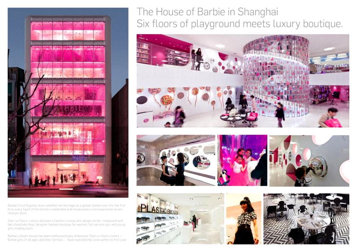 The House of Barbie in Shanghai
