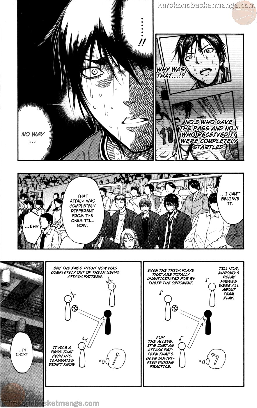 Kuroko no Basket Manga Chapter 105 - Image 11