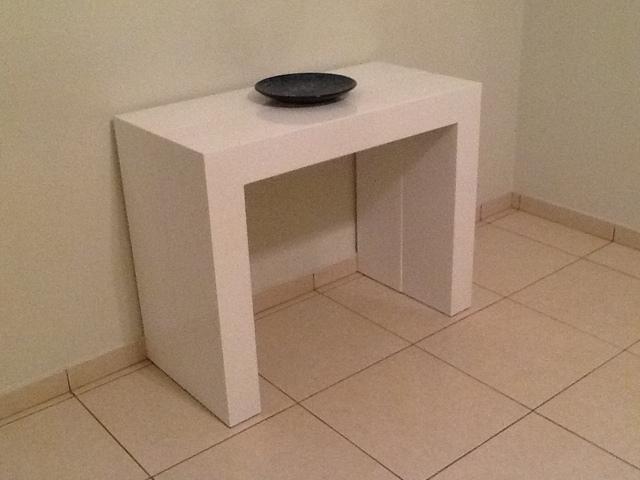 Mudançaà vista Sobre decoraç u00e3o Aparador clean que vira mesa super funcional!