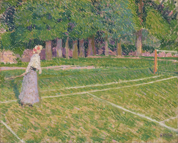 Spencer Gore - Tennis at Hertingfordbury