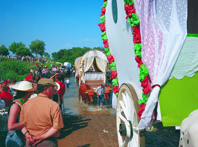 Romeria to El Rocio, Spain