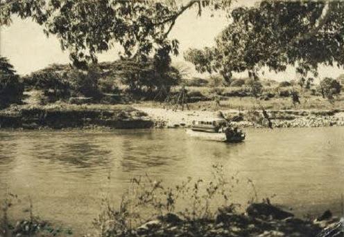 La barca del río Lempa
