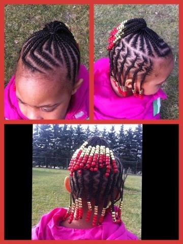 ROSECHILE: MITINDO YA NYWELE YA WATOTO WA KIKE - Braided Hairstyles With Weave