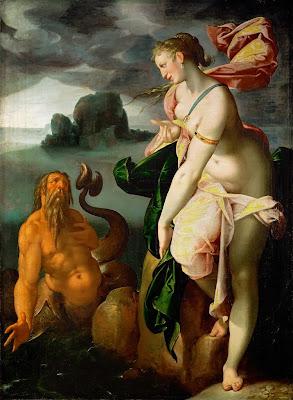 Bartholomeus Spranger - Glaucus und Scylla