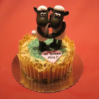 san Valentin, dia de los enamorados tartas decoradas, tartas corazon