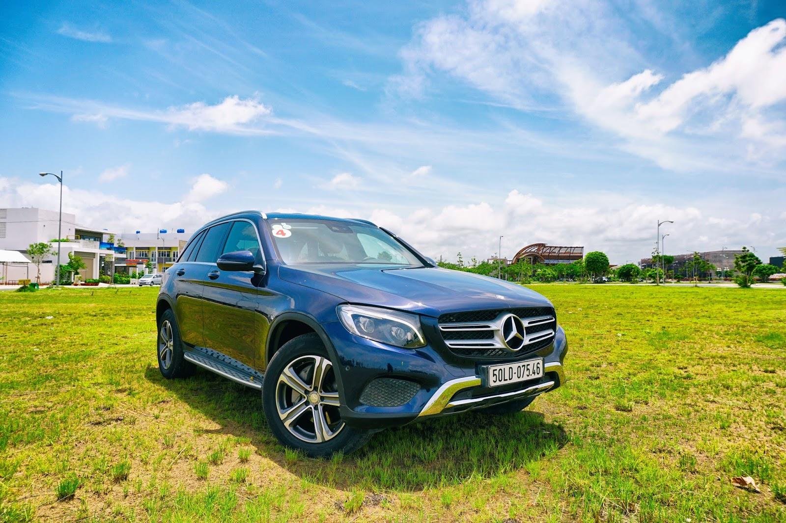 Mercedes Benz GLC là một chiếc xe gia đình đa năng, bình dân nhất của Mercedes