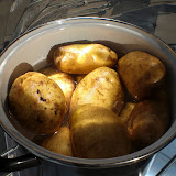 COCINA SOLAR: patatas cocidas