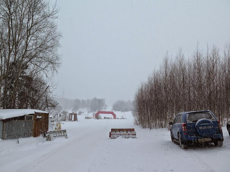 лыжную трассу Альфа-Битца.