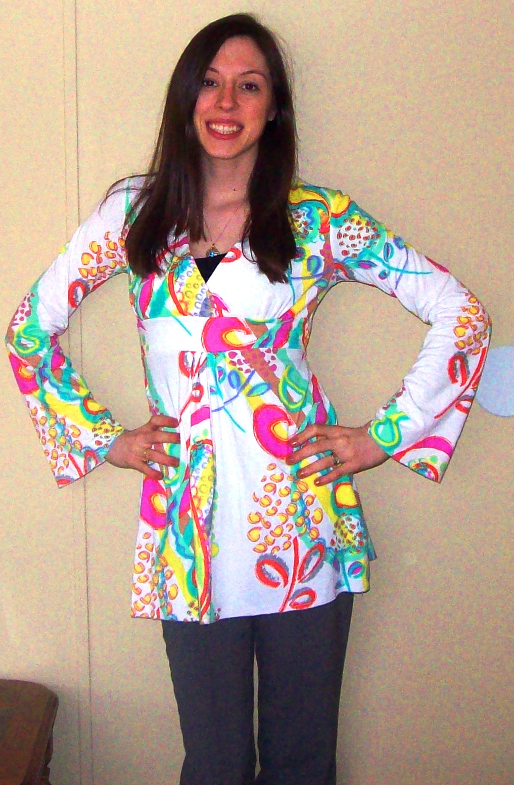 600c765a0e0 I also reviewed this Rio Inspired Tunic in white. I love how it s long so  that I could wear it with leggings or even jeans. It also has a hood which  is ...