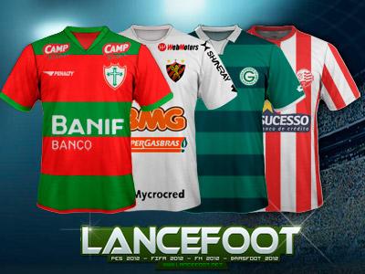 FM 2011- Kits Brasileirão Série B 2011/2012