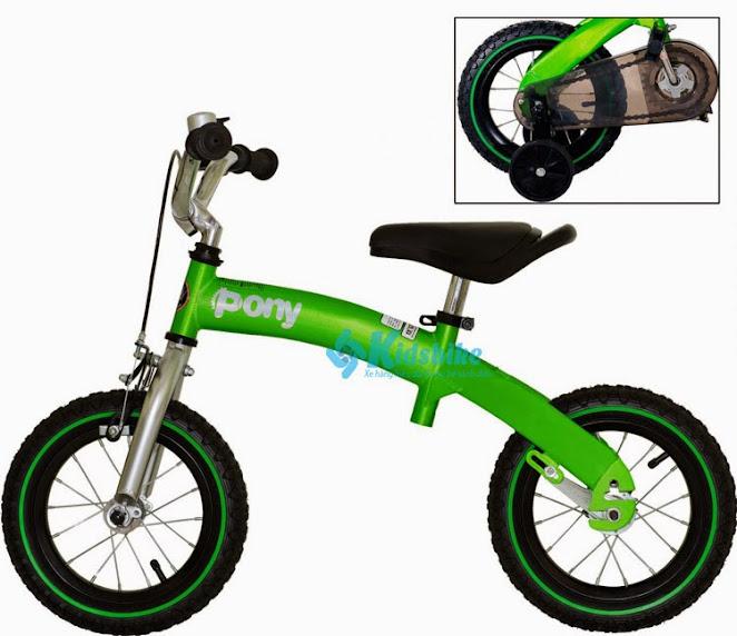 Cụm bàn đạp có thể tháo rời để làm xe cân bằng