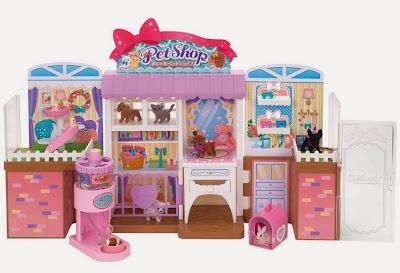 Cửa hàng bán đồ thú cưng của búp bê Licca