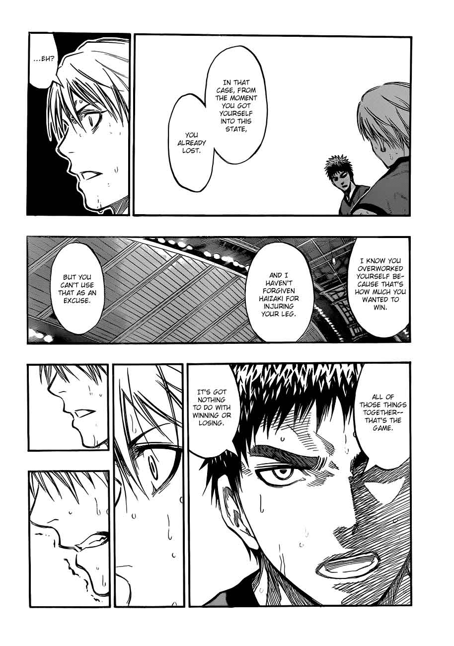 Kuroko no Basket Manga Chapter 190 - Image 12