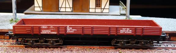 Märklin 4473: Lange lageboordwagen