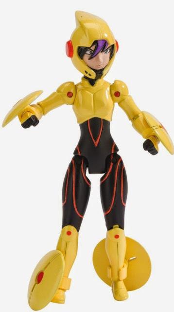 """Các khớp nối linh hoạt tạo nên mô hình Go Go Tomago Biệt đội Big Hero 6 loại 4"""" hoàn hảo"""