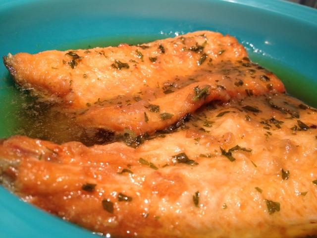 Le mie ricette online trota salmonata in carpione for Ricette on line
