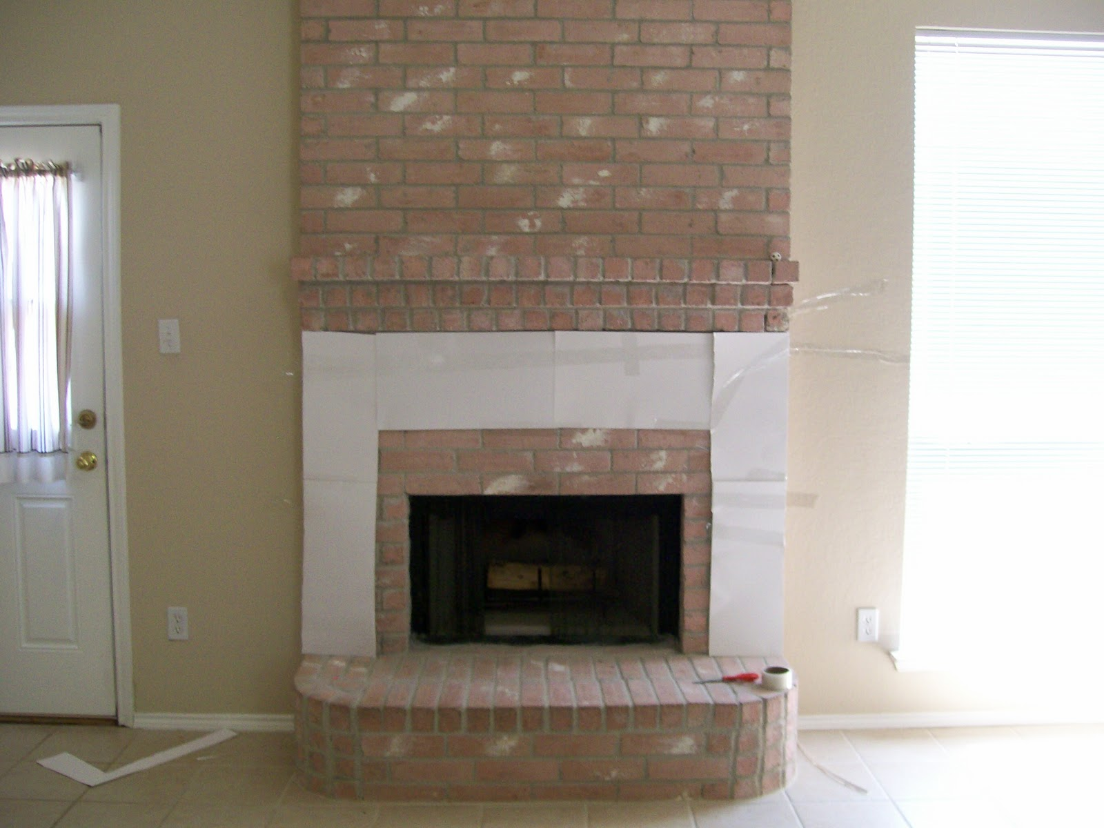 The Pear Tree Cottage Fireplace Makeover With Details And